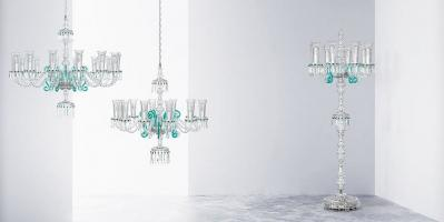 TREVI Floor Lamp & Chandeliers